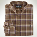 Polo Classic-Fit Twill Plaid Thumbnail