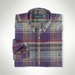 Polo Classic-Fit Country Plaid Sportshirt Thumbnail