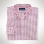 Polo Ralph Lauren Classic-Fit Gingham Oxford Thumbnail