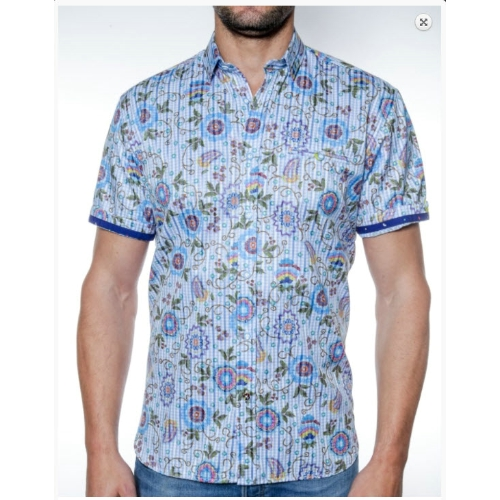 Luchiano Visconti Short Sleeve Sportshirt Thumbnail