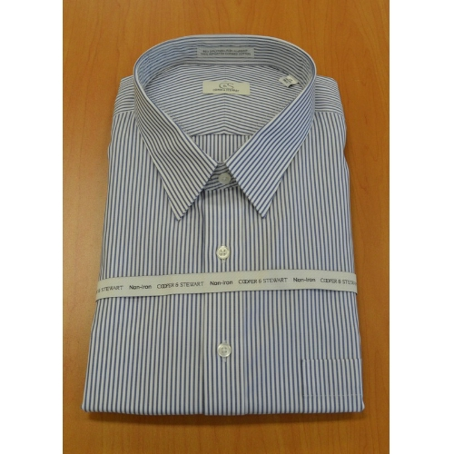 CS BANKERS STRIPE DRESS SHIRT Thumbnail