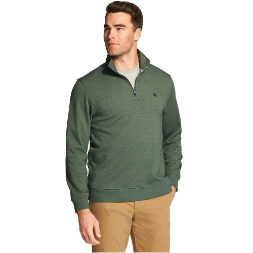 Izod Quarter Zip Stretch Fleece Pullover Thumbnail