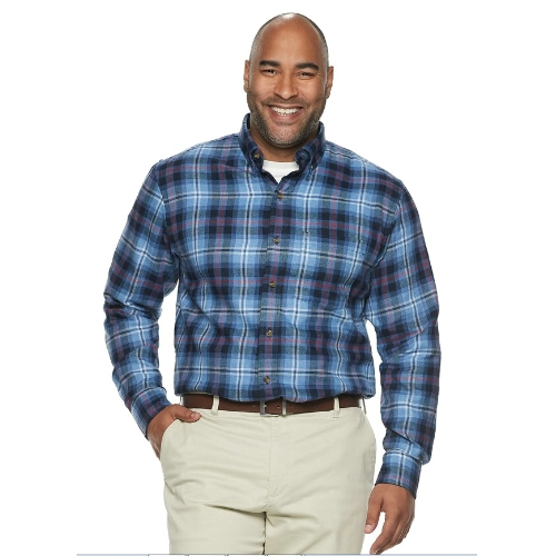 Izod Brushed Flannel Sportshirt Thumbnail