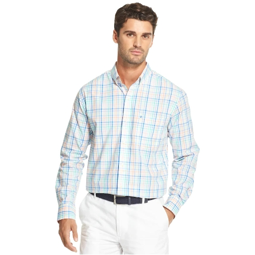 Izod Premium Essentials Plaid Shirt Thumbnail
