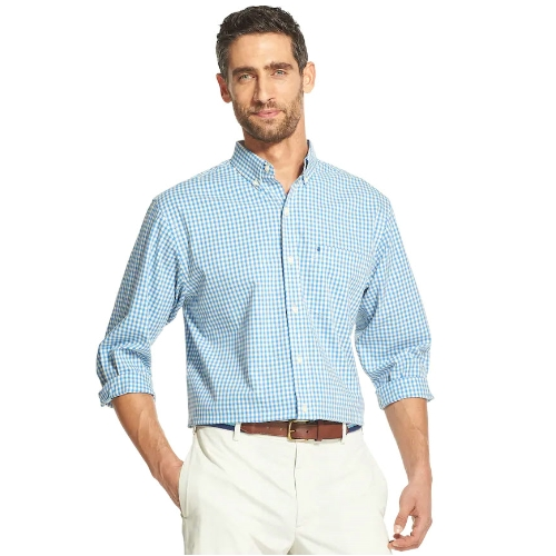 Izod Premium Essentials Gingham Shirt Thumbnail