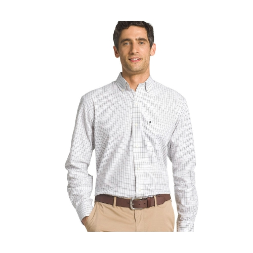 Izod Tattersall Button-Down Sportshirt Thumbnail