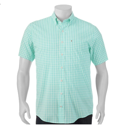 Izod Classic-Fit Stretch Checked Sportshirt Thumbnail