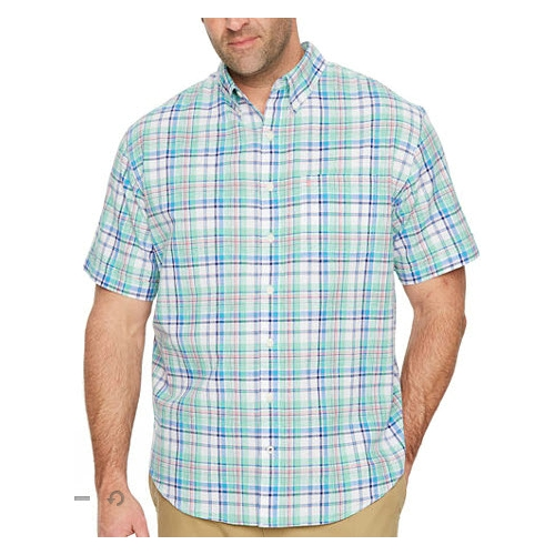 Izod Chambray Button-Down Shirt Thumbnail