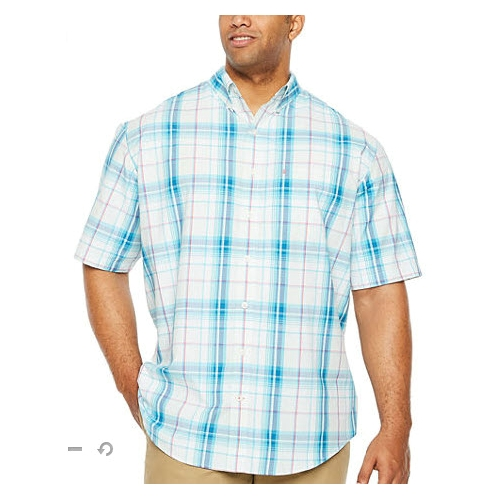 Izod Breeze Plaid Button-Down Shirt Thumbnail