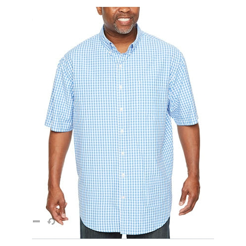 Izod Breeze Check Button-Down Shirt Thumbnail