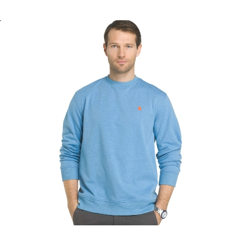 Izod Crew-Neck Fleece Sweatshirt Thumbnail