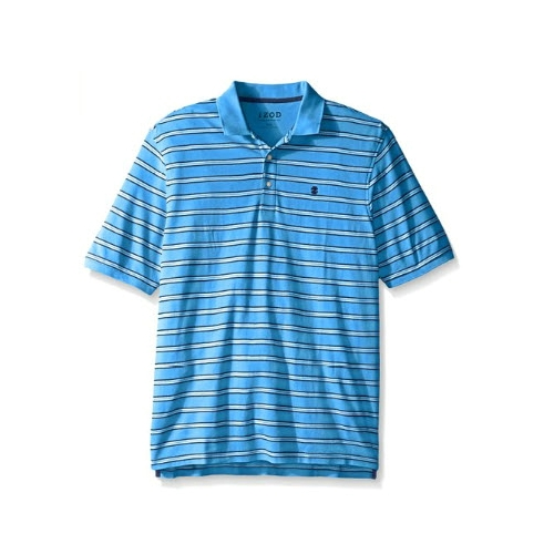 Izod Short Sleeve Advantage Stripe Polo Thumbnail