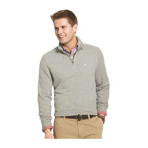 Izod Sueded Fleece Quarter Zip Pullover Thumbnail