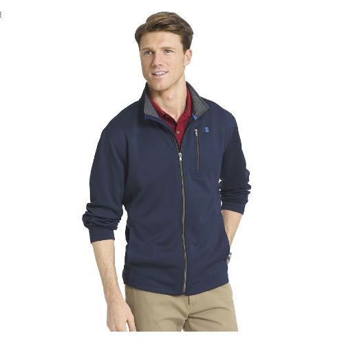 Izod Spectator Full Zip Fleece Jacket Thumbnail
