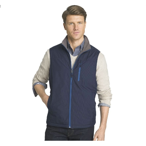 Izod Full Zip Reversible Vest Thumbnail