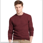 Izod Sueded Fleece Crew Neck Pullover Thumbnail