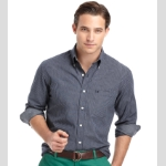 Izod Mini Check Sportshirt Thumbnail