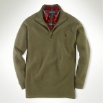 Polo French-Rib Fleece Half-Zip Thumbnail