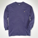 Polo Classic-Fit Long Sleeved Pocket Tee Thumbnail