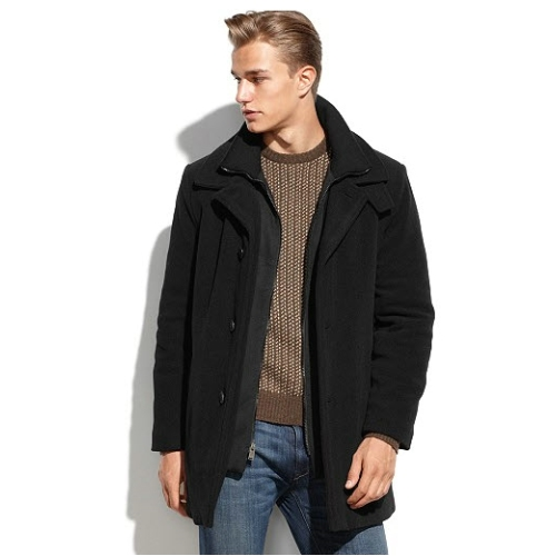 Calvin Klein Wool Blend Coat Thumbnail