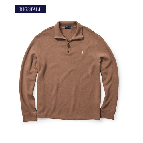 Polo French-Rib Quarter-Zip Pullover Thumbnail