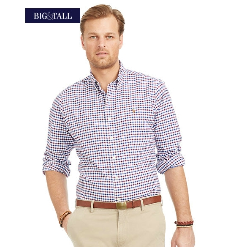 Polo Classic-Fit Tattersall Oxford Sportshirt Thumbnail