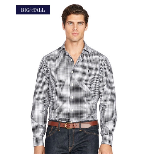 Polo Classic-Fit Checked Popln Sportshirt Thumbnail