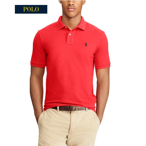 Polo Classic-Fit Cotton Mesh Pique Thumbnail