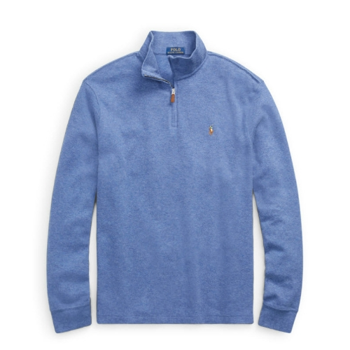 Polo Estate-Rib Cotton Pullover Thumbnail