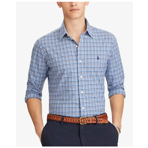 Polo Classic-Fit Cotton Twill Shirt Thumbnail