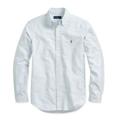 Polo Classic-Fit Striped Oxford Shirt Thumbnail