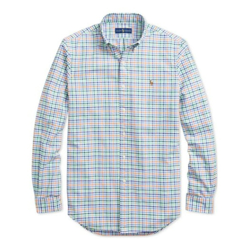 Polo Classic-Fit Plaid Oxford Shirt Thumbnail