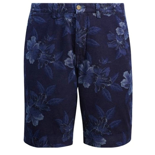 Polo Chambray Hibiscus Short Thumbnail