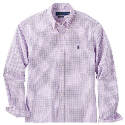 Polo Classic Fit Poplin Stretch Sport Shirt Thumbnail