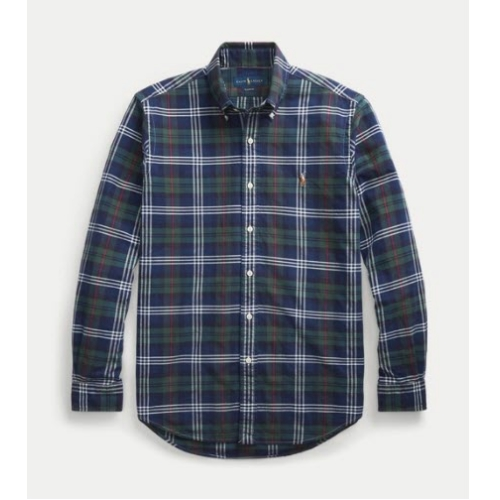 Polo Classic Fit Plaid Oxford Shirt Thumbnail