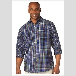 Chaps Huntington Plaid Sportshirt Thumbnail