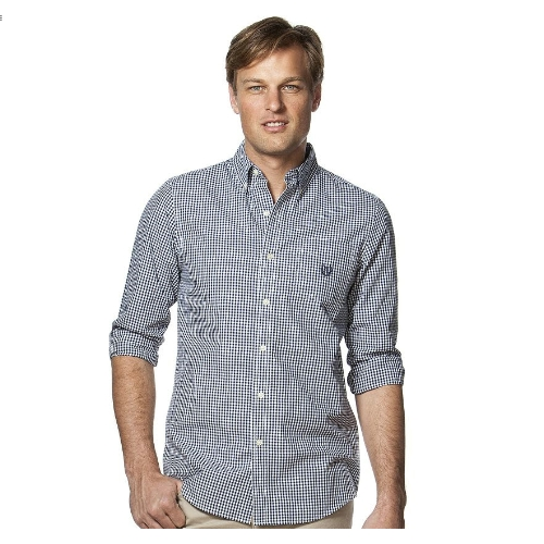 Chaps Gingham Easy Care Sportshirt Thumbnail