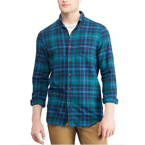 Chaps Flannel Performance Shirt Thumbnail