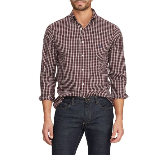 Chaps Easy Care Plaid Shirt Thumbnail