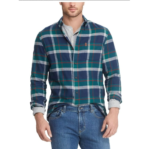 Chaps Performance Flannel Shirt Thumbnail