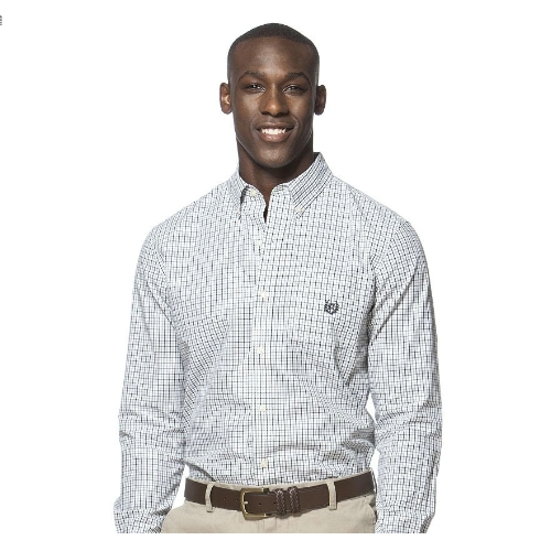 Chaps Tattersall Easy Care Sportshirt Thumbnail