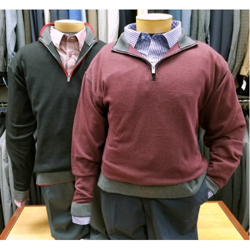 F/X Fusion Quarter-Zip Sweater Thumbnail
