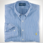 Polo Ralph Lauren Classic-Fit Striped Shirt Thumbnail
