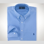 Polo Classic-Fit Sueded Broadcloth Thumbnail