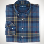 Polo Classic-Fit Madras Oxford Thumbnail