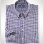 Polo Classic Mini-Plaid Sportshirt Thumbnail