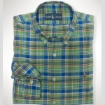 Polo Ralph Lauren Classic-Fit Plaid Oxford Thumbnail