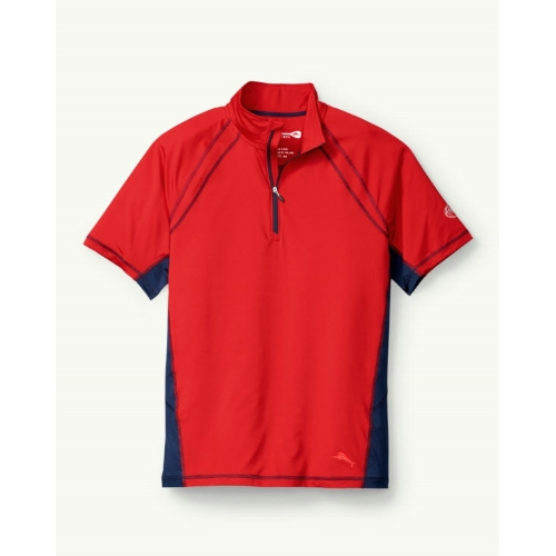Tommy Bahama Tour de Surf Tech Half Zip Thumbnail