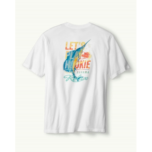 Tommy Bahama Lets Play Hookie T-Shirt Thumbnail