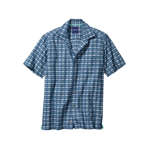 Tommy Bahama Pixel in Paradise Camp Shirt Thumbnail